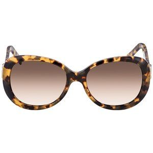Marc Jacobs Women's Oval Havana Sunglasses 56mm